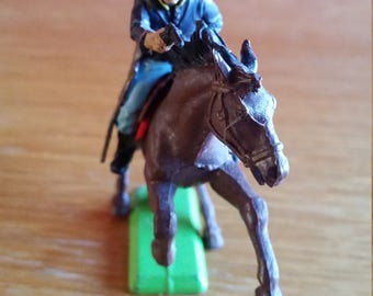 Britains deetail American civil war union cavalry toy soldier made in 1971