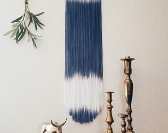 BAJA | dip dye wall hanging (made to order)