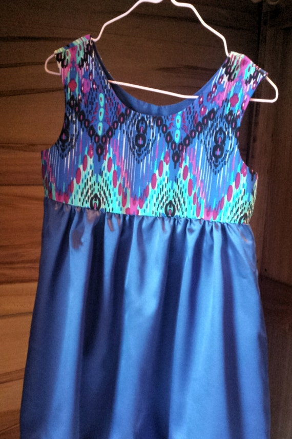 Party Dress blue size 4 girl