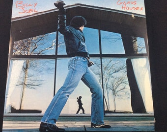 Billy Joel - Glass Houses LP vinyl record - Rare 1980 CBS Sony pressed in Singapore Malaysia