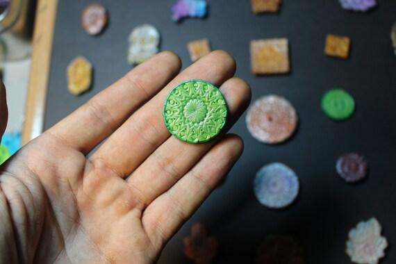 Mandala Geometry Hat Pin (HandMade)