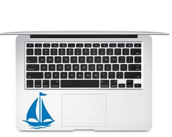 Sail Boat Decal - Nautical Boat Decal - Boating Decal - Sailing Decal - Sail Boat Yeti Decal - Boat Decor - Gift for Sailor - Nautical Decal