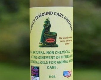 Pet Wound Care Ointment, First Aid for Dogs, Cats, Farm Animals, Pain Relief, essential oils, All Natural, organic, chemical free