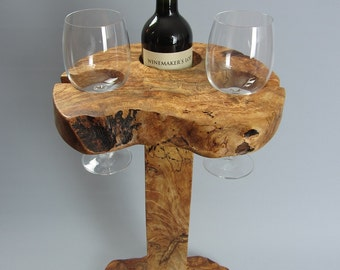 Wooden Wine Holder / Table