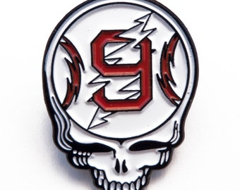Ted Williams Steal Your Face Enamel Pin