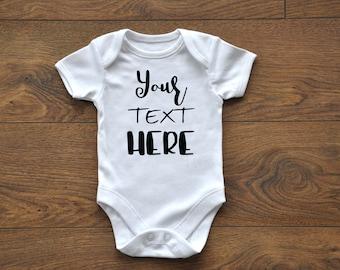 INTRO Sale, Custom Onesie, Custom Bodysuit, Newborn, Baby Outfit, Customizable, Personalized
