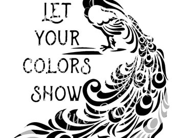 Let Your Colors Show Cutting File