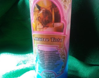 """Candles """"Amarre Total"""""""