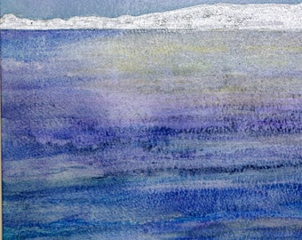 Painting Tranquil Original Watercolour and Ink