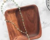 Lariat Necklace, Rosary Necklace, Gemstone Y Necklace, Modern Lariat, Jade Necklace, Gemstone Necklace, Layering Necklace Pendant Necklace