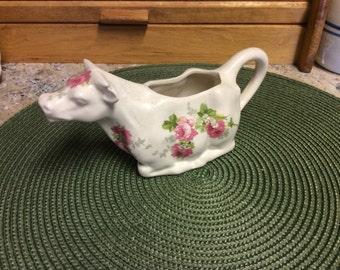 Cow Creamer, Vintage, Crownford