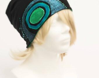 Hand painted unique hat