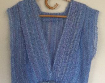 Vintage Hand Knit Sweater Vest