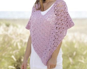 Bridal Poncho, Custom Wedding Poncho, Plus Size Poncho, Handmade Crochet Poncho, Summer Capelet, Crochet Poncho