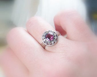 Sample Sale Tourmaline Sterling Ring, Ready to Ship, Size 6