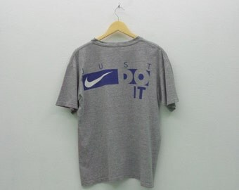 Nike Shirt Men Size S Vintage Nike T 90s Nike Vintage Just Do It Relaxed T