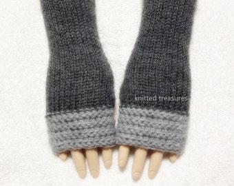 Wool Fingerless Gloves