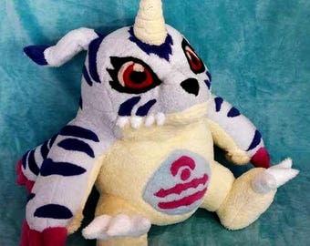 Gabumon Custom Plush Digimon