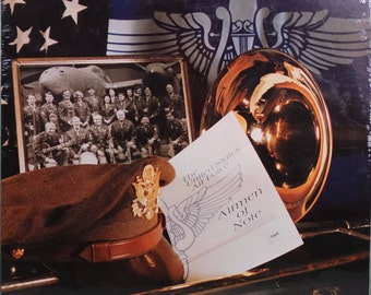 The United States Air Force Airmen Of Note – The Glenn Miller Tradition 1982 (LP, Album, Vinyl Record )  Jazz, Big Band - Muisc