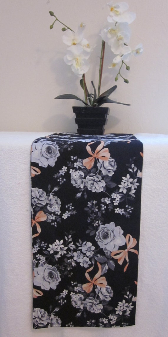 Choose from a variety of Black And Gray table runner designs or create your own! Shop now for table runners & more!