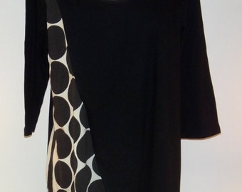 Pull-Over Long Knit Tunic or Dress -SP16-5609