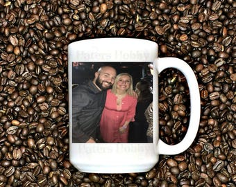 Custom Photo mug, Mother's day gift, Father's day gift, Grandparents gift, Husband gift, Wife Gift, Picture mug