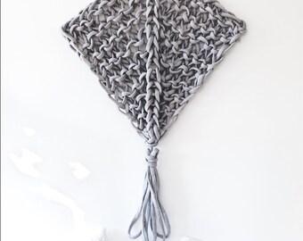 Wall Hanging Pattern Knitted Manta Ray