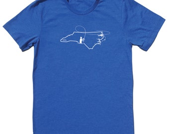 North Carolina Fly Fishing Shirt