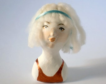 Doll Bust Fay / Copper Top