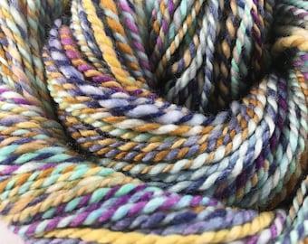 Handspun Yarn 122 Yards DK Weight 100% Merino Wool OOAK