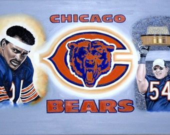 Chicago Bears Complete montage
