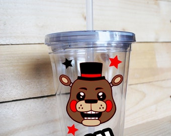 Personalized Five Nights at Freddy's FNAF Tumbler Cup