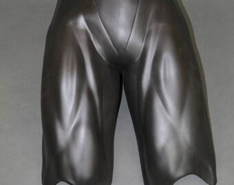 Batman full wrap legs! Urethane cosplay costume prop