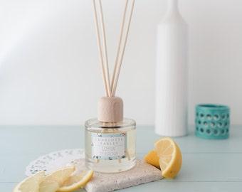 Lemon Verbena Reed Diffuser, Home Fragrance, Natural, Essential Oils