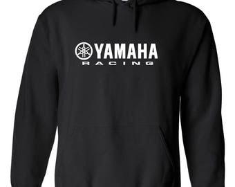 YAMAHA RACING MOTOR Graphic Printed Hoodie ***Free Shipping***