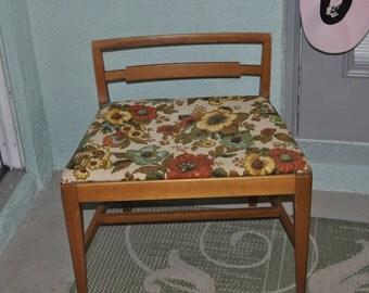 Low Back Wide Seat Vanity Desk Chair