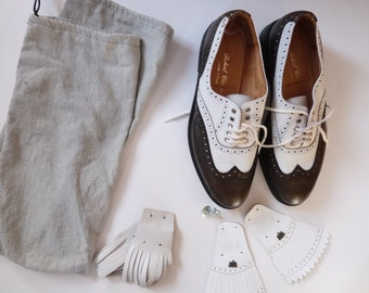 ROBERT CLERGERIE - golf - 80/90's vintage woman - shoes size 38