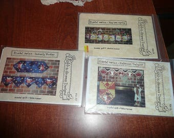Robb-N-Graves Mantel Series/Table Runner Spring,Hallow Heavenly Bodies Quilt Patterns