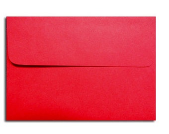 20 Holiday Red Envelopes in A7, A6, A2 & A1 Sizes