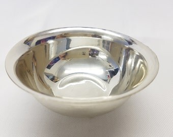 Minature Silver Plated Bowl