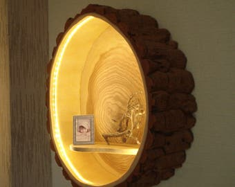 Wood lamp Wall lamp