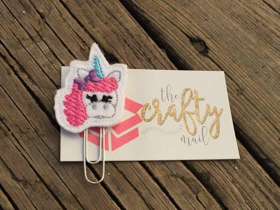 Unicorn Clip/Planner Clip/Bookmark.