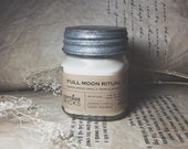 Full Moon Ritual - Soy Candle- WITCHCRAFT - Artisanal Small Batch Hand Poured Made in New England Soy Candle