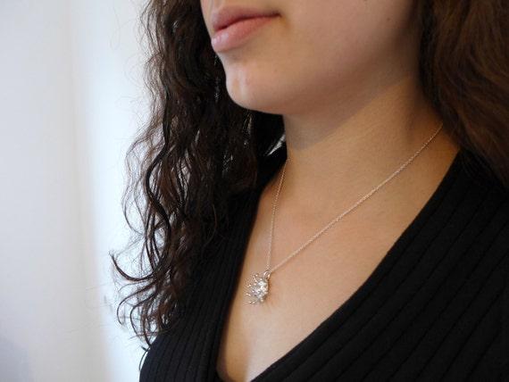 Trichome Pendant-Botanical Plant Anatomy Jewelry-Science Jewelry-Cannabis Necklace