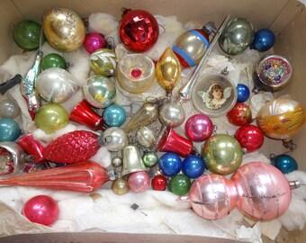 Christmas Ornaments Antique Vintage