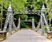 Mill Creek Park Bridge Photo - Valley Drive Bridge, Silver Bridge, Architecture Photography