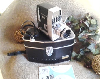 Bell & Howell Director Series Movie Camera, Zoomatic 8mm Home Movie Camera, Father's Day Gift