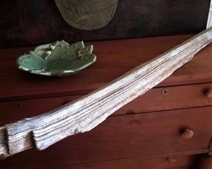 Driftwood Board Plank Wood Floating Shelf Decorations Primitive Signs Rustic 442
