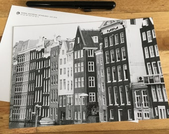 Card - Damrak - Amsterdam - taken on August 2015