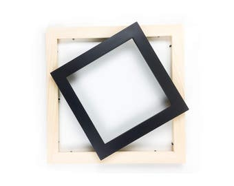 8x8 picture frame black 8x8 frame solid wood picture frame